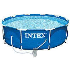 Combo piscina 305x76 cm + bomba 330 gl