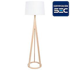 Lámpara de pie 60W Francisca E27