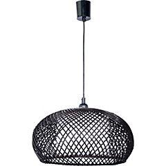 Lámpara de colgar 60W Palawan 1 luz E27