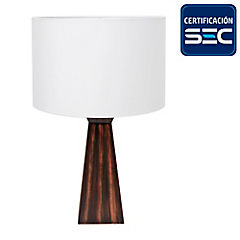 Lámpara de Mesa 60W Hyatt E27