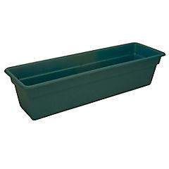 Jardinera de plástico 15x19x61 cm Verde