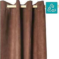 Cortina Suede 140x220 cm chocolate