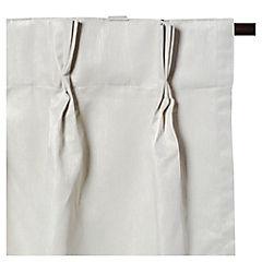 Cortina Pinzas 140x220 cm crema