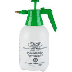 Pulverizador manual 1,5 litros blanco