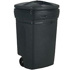 Basurero con tapa 170 litros negro