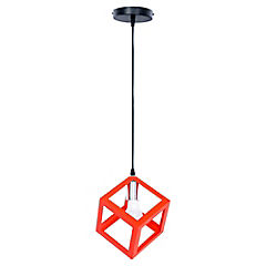 Lámpara de colgar cubo E27 40W
