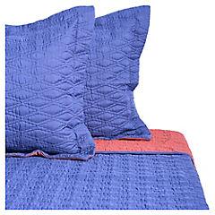 Quilt 2 plazas azul