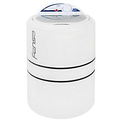 Lavadora semiautomática carga superior 3 kg blanco
