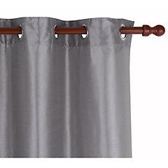 Cortina poliester 145x250 cm gris