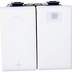 Módulo dimmer multicarga modular 10 A Blanco