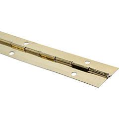 Bisagra piano 32x32 mm bronceado