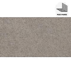 Porcelanato 30x60 cm 1,44 m2 gris