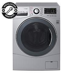 Lavadora secadora frontal 11 kg 7 kg silver