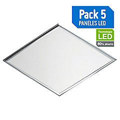 Set paneles LED 48 W 5 unidades