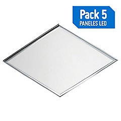 Set paneles LED 48 W 5 unidades