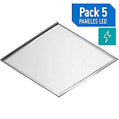Set de paneles LED 5 unidades 48 W