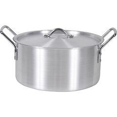 Olla aluminio 1,5 litros Gris