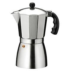 Cafetera aluminio 9 tazas Gris