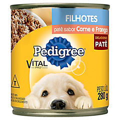 Alimento húmedo para cachorro 280 gr carne