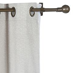 Kit de cortinas + velo Camila 144x220 cm arena