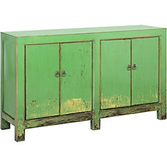 Mueble madera 132x39x80 cm
