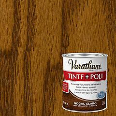 Tinte poliuretano a base de agua semibrillante 0,9 l Nogal claro