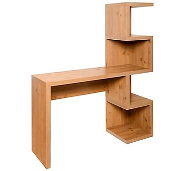 Escritorio estante 120x39x146 cm oak - Sodimac.com eace65bae80d