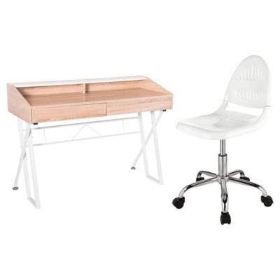Combo 1 escritorio beijing 1 silla pc joseph for Sillas ergonomicas sodimac