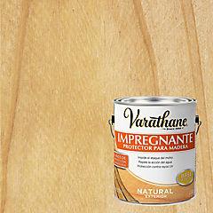 Protector impregnante para madera satinado 3,78 l Natural