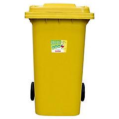 Contenedor 240 l amarillo
