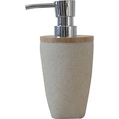 Dispensador de jabón para baño beige