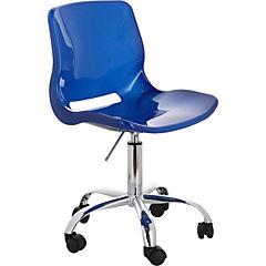 Silla para PC 77x45x46 cm azul