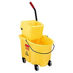 Carro escurridor 42x47x39 cm 26 litros amarillo