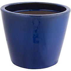 Macetero de cerámica 39x31 cm Azul