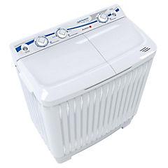 Lavadora semiautomática carga superior 4,5 kg blanco