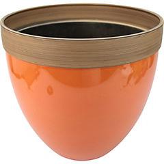 Macetero de plástico 36x33 cm Naranjo