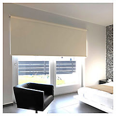 Cortina enrollable Black Out poliéster 150x250 cm