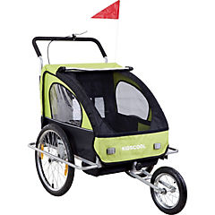 Carro de arrastre verde