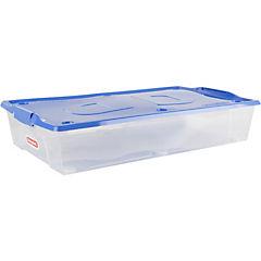 Caja organizadora 35,5 litros 78x45,5x14,5 cm transparente