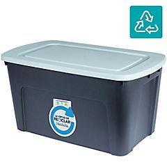 Caja organizadora 125 litros gris