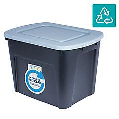 Caja organizadora 75 litros gris