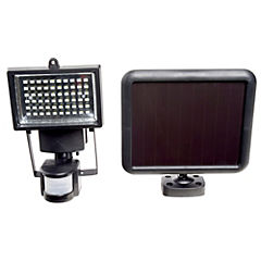Reflector solar LED 5 W con sensor de movimiento