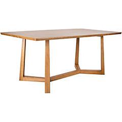 Mesa de comedor 76x100x180 cm café