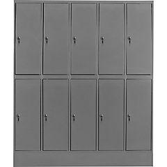 Locker acero 10 puertas con llave maestra