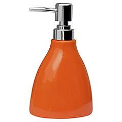Dispensador de jabón para baño naranjo