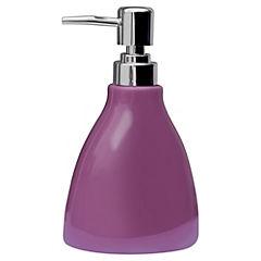 Dispensador de jabón para baño violeta