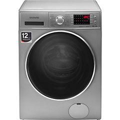 Lavadora secadora carga frontal 10,5/8 kg silver