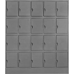 Locker acero 20 puertas con llave maestra
