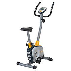 Bicicleta estática magnética amarillo