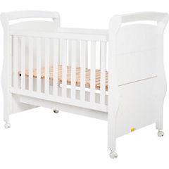 Cuna cama 124x81x157 cm blanco